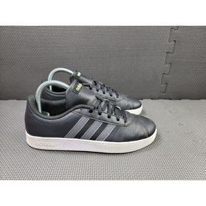 Youth Sz 5 Black Adidas VL Court 2.0 Sneakers